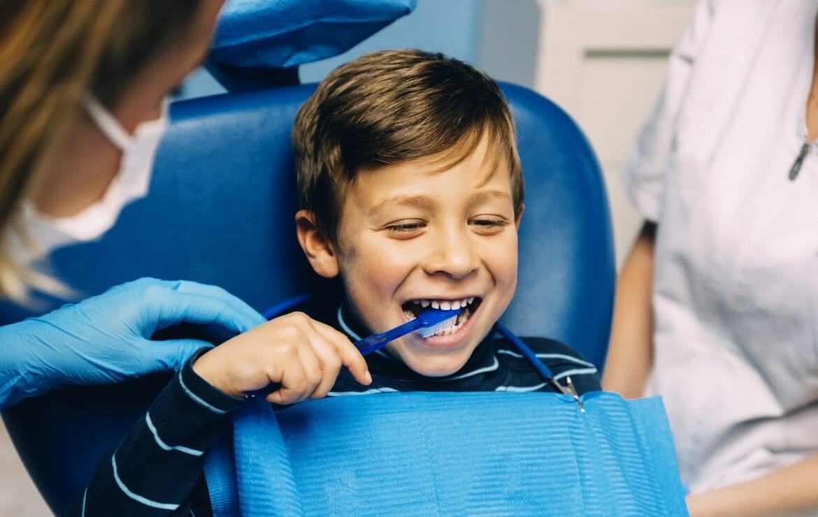 It's National Children's Dental Health Month